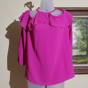 Michael Michael Kors cold shoulder blouse m1